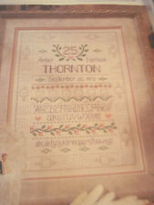 CROSS STITCH PATTERN , TO HAVE & TO HOLD WEDDING ANNIVERSARY SAMPLER