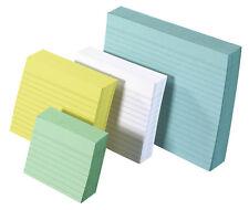 200 - 1000 Karteikarten DIN A7 A6 oder A5 liniert verschiedene Farben