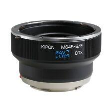 Kipon Focal Reducer Adapter Speedbooster for Mamiya 645 Lens to Sony E Mount NEX