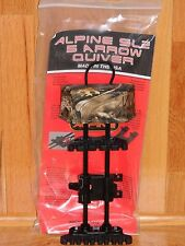 Alpine SL2 Soft Loc 5 Arrow Bow Quiver- Mathews Lost Camo-Hoyt, Bowtech, Elite