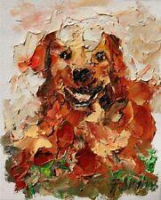 Originale künstlerische Öl-Malerei mit Tier-Motiv als Original der Zeit