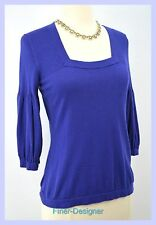 BANANA REPUBLIC SEXY Silk CASHMERE cotton SWEATER fine knit pullover top S NEW