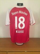 Bayern Munich Home Shirt 2006/07 *KLOSE 18* Medium Vintage Rare