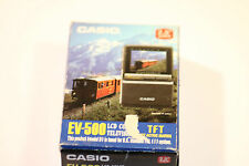 "VINTAGE Casio EV-500 LCT televisione a colori TFT Active Matrix SCREEN 2.5"" PAL"