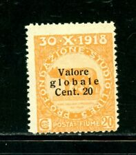 Fiume Scott # 77 - Mh - Nice Stamp - Paper on 50% of back