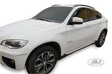 BMW X6  2009-2014 Front wind deflectors rain 5dr 2pc set TINTED HEKO