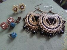 Mixed Lot Fashion Earrings Five Pairs