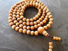 Mysore Sandalwood Mala, Necklace, Bracelet Prayer Beads Authentic Highest Qualit