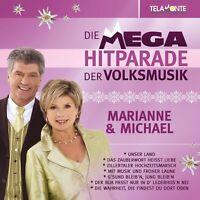 MARIANNE & MICHAEL - MEGA HITPARADE DER VOLKSMUSIK  CD NEU