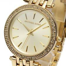 Michael Kors MK3191 Ladies Watch Darci Glitz Gold Dial Pave Bezel MK3191