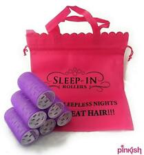 Fringe Rollers Extra Large by Sleep In Rollers - Pack of 6 - No Grips Needed