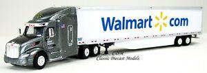 Peterbilt 579 Fuel Saver Edition WALMART.COM LOGO w/53' Trailer 1/87 HO TNS46114