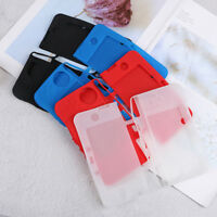 Silicone gel rubber protective shell skin case cover for new nintendo 3ds FTBDA