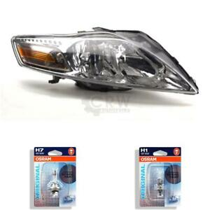 Halogen Headlight Right Ford Mondeo 07 Year 03/07-11/10 H7/H1 with Motor