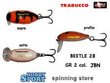 BEETLE ARTIFICIALE RAPTURE TRABUCCO mm 28 gr 2 col JNB ESCA TROTA LAGHETTO SPIN