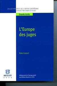 Europe des juges (l')