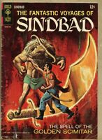 Fantastic Voyages Of Sindbad #2-1967 gd+ 2.5 Sinbad Gold Key