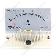 1×AC5V Analog Panel Volt Voltage Meter Voltmeter Gauge 85L1 AC0-5V