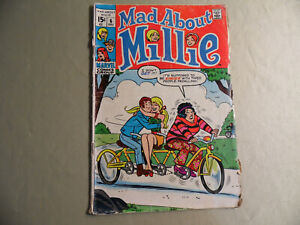 Mad about Millie #6 (Marvel 1969) Free Domestic Shipping