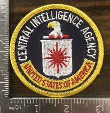 Central Intelligence Agency Patch