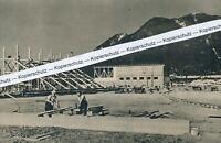 Garmisch - Neubau für die Winterspiele - Olympia - Stadion - um 1935   R 5-13