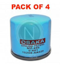 OSAKA Oil Filter Z495 - FOR SUBARU IMPREZA WRX GEN1 GEN2 - BOX OF 4