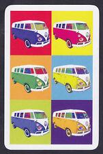 Volkswagen VW Camper Van Single swap Playing Cards