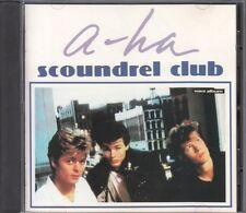 A-HA / SCOUNDREL CLUB JAPAN CD OOP