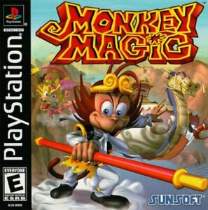 Monkey Magic PS1 Great Condition Fast Shipping