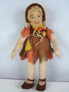 Rare Merrythought Pantomime Doll - Emile Littler's Cinderella, Birmingham, 1935