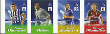 FOOTBALL - SOCCER CARDS 2014 – CHAMPIONS LEAGUE - Lot of FOUR (4)