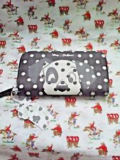 BNWT CATH KIDSTON DISNEY 101 DALMATIONS CONTINENTAL ZIP PURSE WALLET SOLD OUT