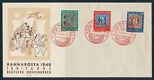 Ungeprüfte Briefmarken aus der BRD (ab 1948) mit Sonderstempel
