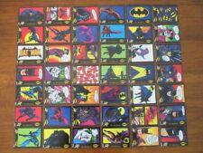 ORIGINAL 1989 BATMAN TRADING STICKER CARDS DANDY AUSTRALIA **FULL SET**