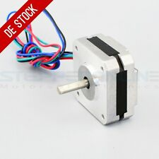 DE Ship Short Body Nema 17 Stepper Motor Bipolar 1A 13Ncm 42x42x20mm 4-wires