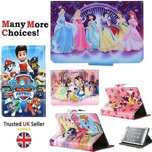 "7"" 8"" 9.7"" 10"" 10.1"" Tab Cover Paw Patrol Disney Princesses Unicorn Tablet Case"