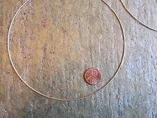 """Sterling Silver Neck Wire Omega Cable Necklace 1 mm 16"""" Twist Collar Neckwire NW"""