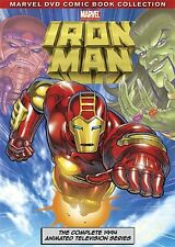 NEW Iron Man: The Complete Animated Television Series (DVD)