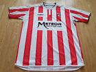 Mens Umbro Derry City Home football shirt 2007 - 2008 Size XL
