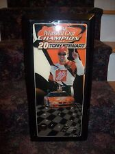 Tony Stewart 2002 Winston Cup Champion Limited Edition Clock 558 of 5,000