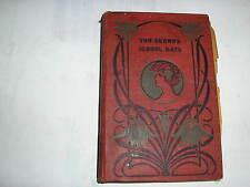 TOM BROWN'S SCHOOL DAYS by Thomas Hughes (Circa. 1890) RARE COPY