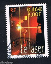 1 FRANCOBOLLO FRANCIA IL LASER 2001 usato