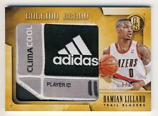 Damian Lillard 2013-14 Panini Gold Standard Bullion Brand Laundry Tag Patch 1/2