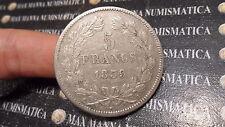 FRANCIA FRANCE 5 FRANCS FRANCHI 1839 A ARGENTO SILVER cod. FRANCIA-48