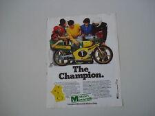 advertising Pubblicità 1981 MOTORI MINARELLI
