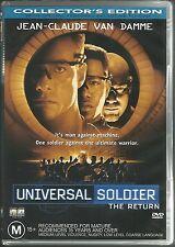 UNIVERSAL SOLDIER THE RETURN MICHAEL JAI WHITE JEAN CLAUDE VAN DAMME NEW DVD