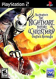 The Nightmare Before Christmas Oogie's Revenge - Manual Included