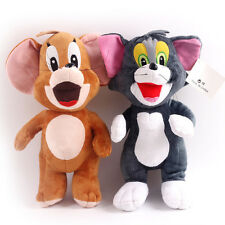 2x Cute 35cm Tom And Jerry Plush Soft Stuffed  Doll Kid Toy Brithday Gift