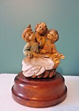 """Rare New Angel Music Box - Tune: """"Hark the Herald Angels Sing"""" - Made in Italy"""