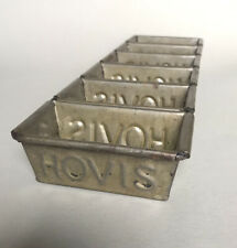 More details for vintage strap of 6 small hovis bread tins